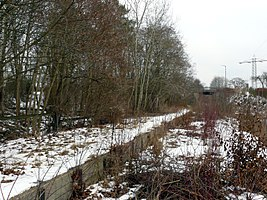 ehemaliger Bahnsteig (Januar 2010)