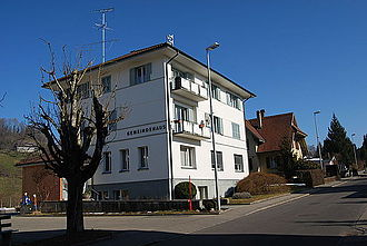 Eriswil - Municipal administration building of Eriswil