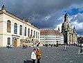 20121007150DR Dresden Neumarkt Johanneum Frauenkirche.jpg