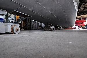 2012 'Tag der offenen Werft' - ZSG Werft Wollishofen - Dampfschiff Stadt Zürich (Renovation) 2012-03-24 13-57-40 ShiftN.jpg