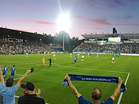 2012 Impact de Montréal au stade Saputo.jpg