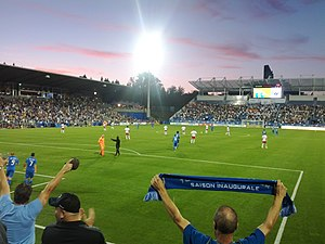 Montreal Impact - Match of Montreal Impact at Saputo Stadium against New York Red Bulls on July 28, 2012