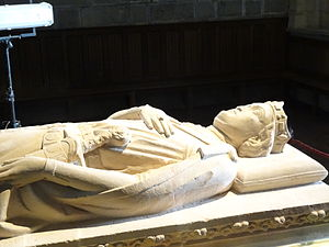 Sancho VII of Navarre - Sancho's sarcophagus