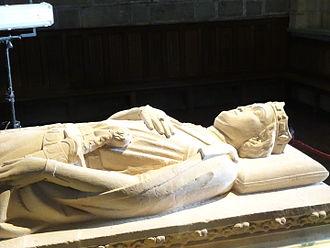 Sancho VII of Navarre - Sancho's sarcophagus