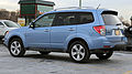 2012 Subaru Forester XT facelift rear side.jpg