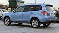 2012 Subaru Forester XT facelift rear side.jpg