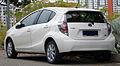 2012 Toyota Prius c in Cyberjaya, Malaysia (02).jpg