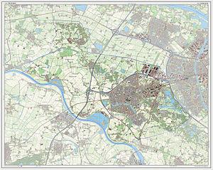 Wijchen - Dutch Topographic map of Wijchen, July 2013