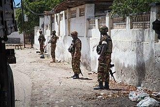 Operation Linda Nchi - Image: 2013 10 20 AMISOM KDF Kismayo Town 007 (10304957435)