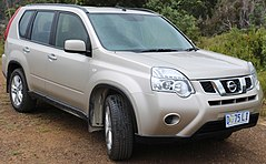 Nissan X-Trail II po liftingu