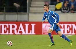 2014-05-30 Austria - Iceland football match, Sölvi Ottesen 0321.jpg