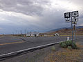 2014-07-18 17 50 39 The junction of U.S. Route 6 and Nevada State Route 379 (Duckwater Road) in Currant, Nevada.JPG