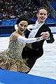2014 Winter Olympics - Madison Chock and Evan Bates - 01.jpg