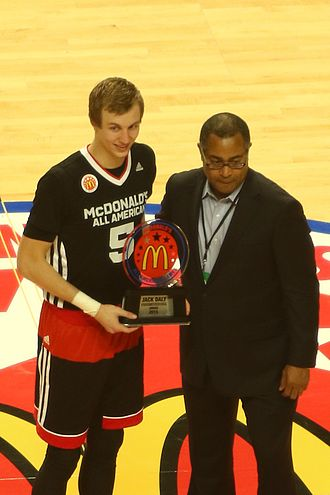 2015 McDonald's All-American Boys Game - Luke Kennard won the Jack Daly Award for sportsmanship