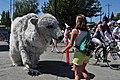 2015 Fremont Solstice parade - Polar bear 06 (19310307625).jpg