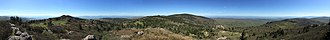 Pine Mountain (Grayson County, Virginia) - Image: 2017 05 16 09 55 12 Full 360 degree panorama from the summit of Pine Mountain within the Mount Rogers National Recreation Area in Grayson County, Virginia