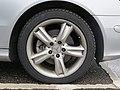 2017-09-01 (240) Bridgestone Blizzak LM-32s 225-45 R 17 94 V tire at Bahnhof Ybbs an der Donau.jpg