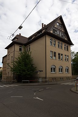 Schumannstraße in Stuttgart
