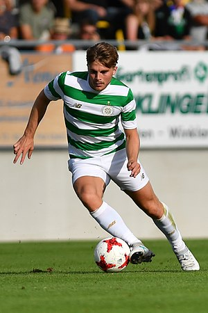 James Forrest (footballer) - Forrest playing for Celtic in 2017