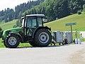 2018-06-17 (202) Deutz-Fahr Agroplus 70 with milk cooler at solstice event at Höbarten, St. Anton an der Jeßnitz, Austria.jpg
