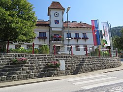 Town hall in Frankenfels