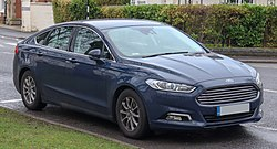 2018 Ford Mondeo Titanium Edition ECOnetic 2.0 Front.jpg