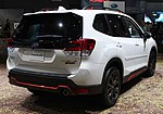 2019 Subaru Forester Sport AWD rear NYIAS 2019.jpg