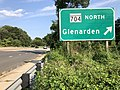 2020-08-26 16 43 35 View south along Maryland State Route 202 (Landover Road) at the exit for Maryland State Route 704 NORTH (Glenarden) in Landover, Prince George's County, Maryland.jpg