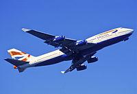 G-CIVW - B744 - British Airways
