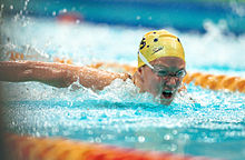 221000 - Swimming Kate Bailey action - 3b - 2000 Sydney event photo.jpg