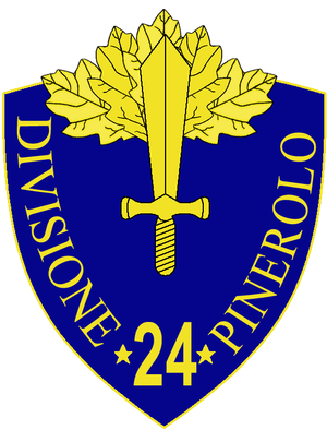 24th Infantry Division Pinerolo - 24th Infantry Division Pinerolo Insignia