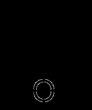 Dihydropyran - Image: 3,4 Dihydro 2H pyran