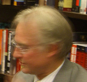Professor Richard Dawkins at a book signing fo...