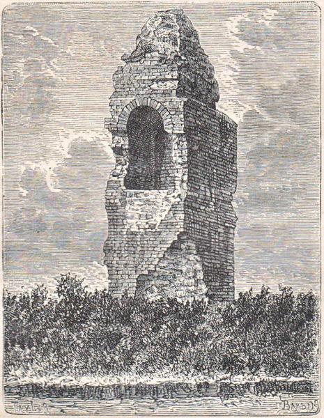 Pile romaine de Labarthe-Rivière,  (Classé, 1905)