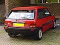 315 - Paula Ham's 1990 red Rover Metro GTi, back.jpg