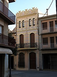 320 Casa Carbonell, c. Ample 36 (Canet de Mar).JPG