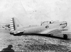 33d Special Operations Squadron - 33d Pursuit Squadron Consolidated P-30, Langley Field, Virginia, 1937