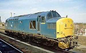 British Rail Class 37 - 37 263 BR Class 37/0 loco at Didcot