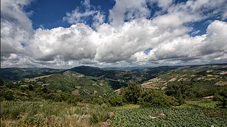 Pedrafita do Cebreiro - Way of St. James near Cebrero