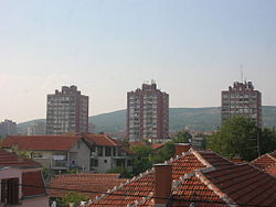 Panorama of some of Pantelej's neighborhoods