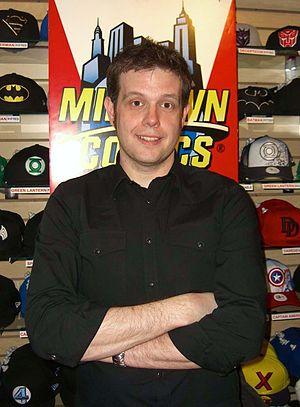 Shane Davis - Davis at Midtown Comics Downtown in Manhattan, April 20, 2010