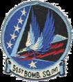 51st Bombardment Squadron - Heavy - SAC - Emblem.png
