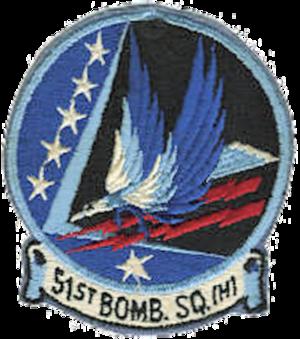 51st Bombardment Squadron - Emblem of the 51st Bombardment Squadron