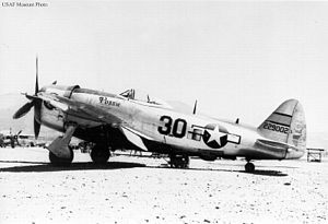 57th Operations Group - P-47D of the 57th Fighter Group, Italy, 1944