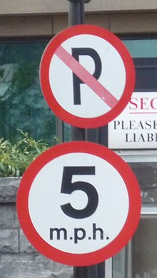 Road signs in Ireland - Wikipedia