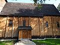 628994 podkarpackie gm Pilzno Łęki Górne kościół 5.JPG