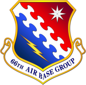 Hanscom Air Force Base - Image: 66th Air Base Group emblem