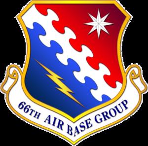 Hanscom Air Force Base - Image: 66th Air Base Group emblem
