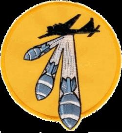 708th Bombardment Squadron - Emblem