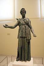 7405 - Piraeus Arch. Museum, Athens - Artemis - Photo by Giovanni Dall'Orto, Nov 14 2009